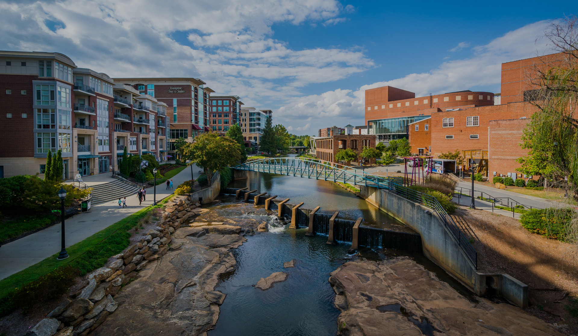 falls park in greenville south carolina